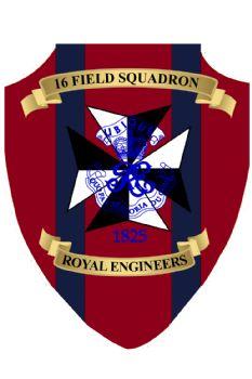 16 Field Squadron Plaque